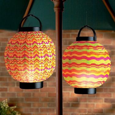 18cm LED Summer Paper Lantern