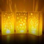 Christmas Candle Bags (3 Pack)
